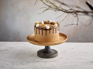 Luscious Chocolate Butter Cream Cake