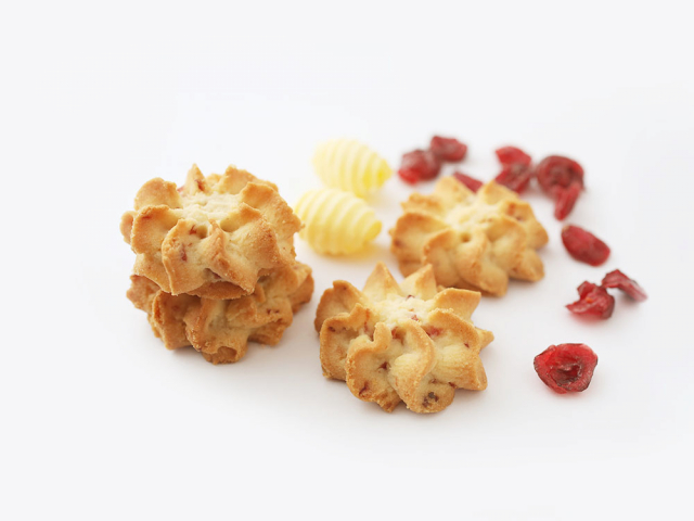 Cranberry Butter Cookies