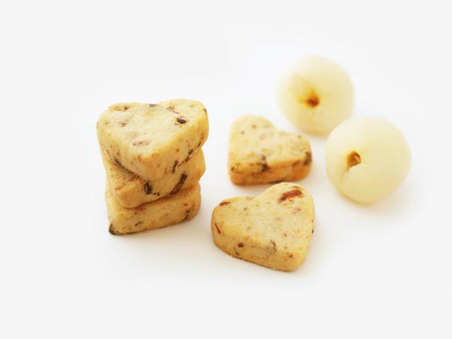 Lychee Cookies