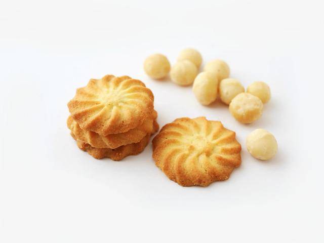 Macadamia Nuts Butter Cookies