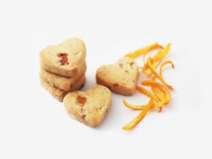 Orange Walnut Cookies
