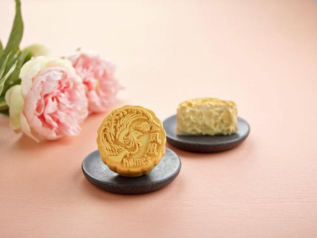 Snow-skin Top Grade Golden Phoenix Durian Mooncake